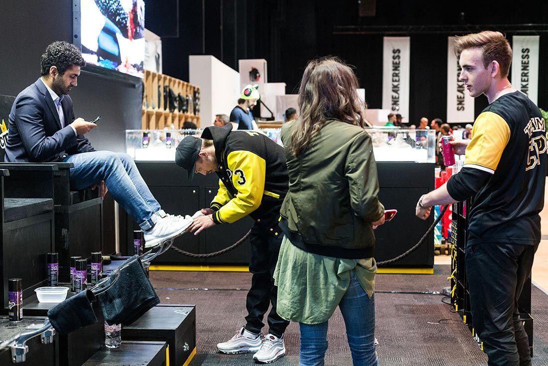 Sneakerness Even Recap Shining Shoes