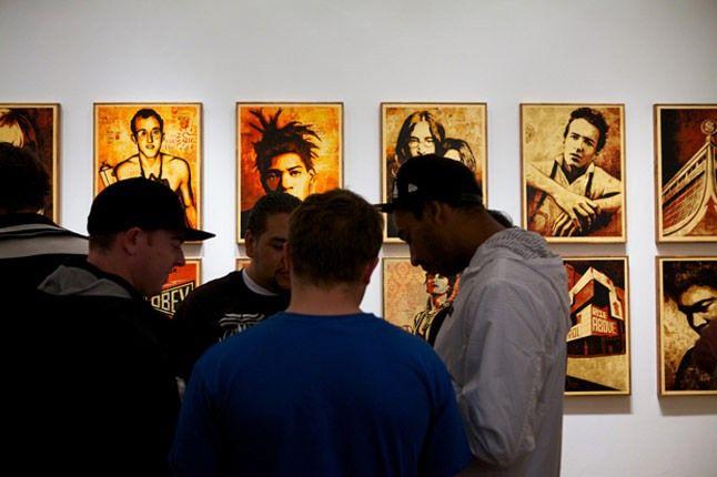 Shepard Fairey Printed Matters Exhibition Recap 7 1