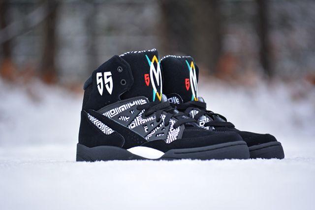 Adidas Mutombo Black White 2