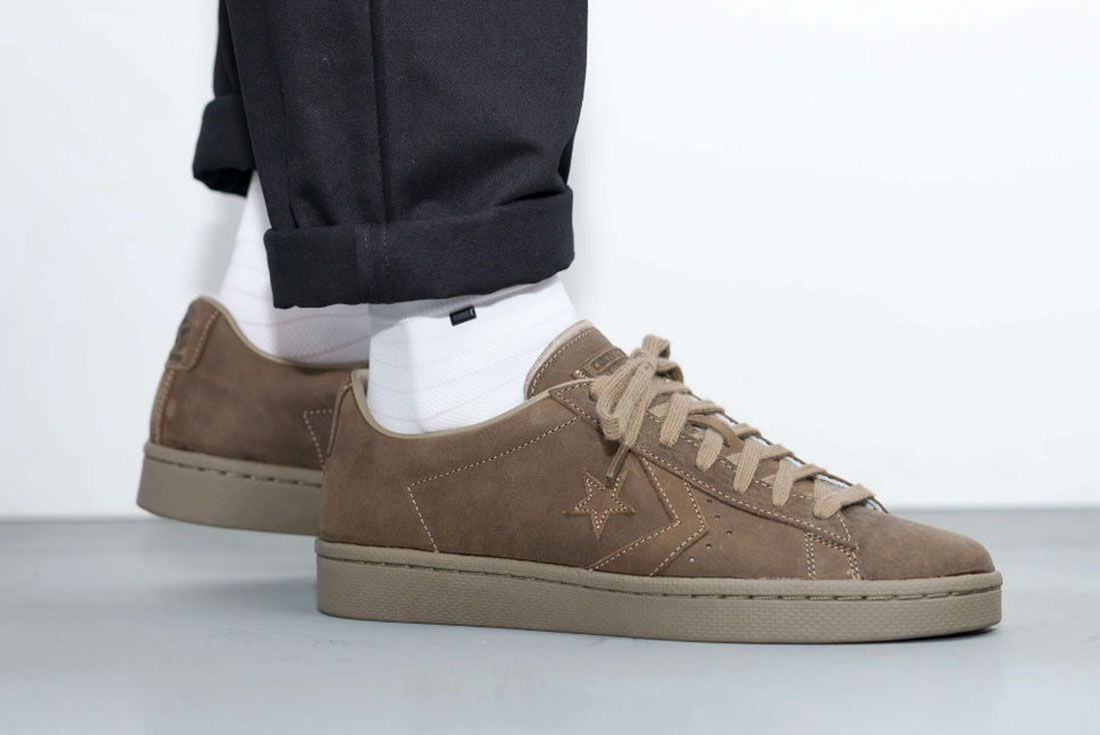 Converse Cons Pro Leather 76 Ox ' Autumn Mono' Pack 1
