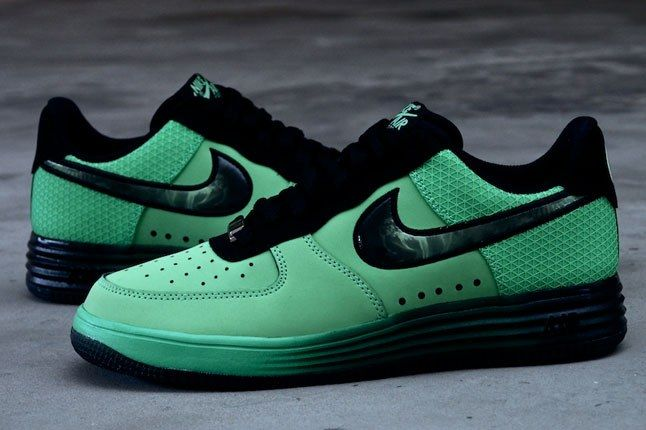 Nike Lunar Force 1 Green 1