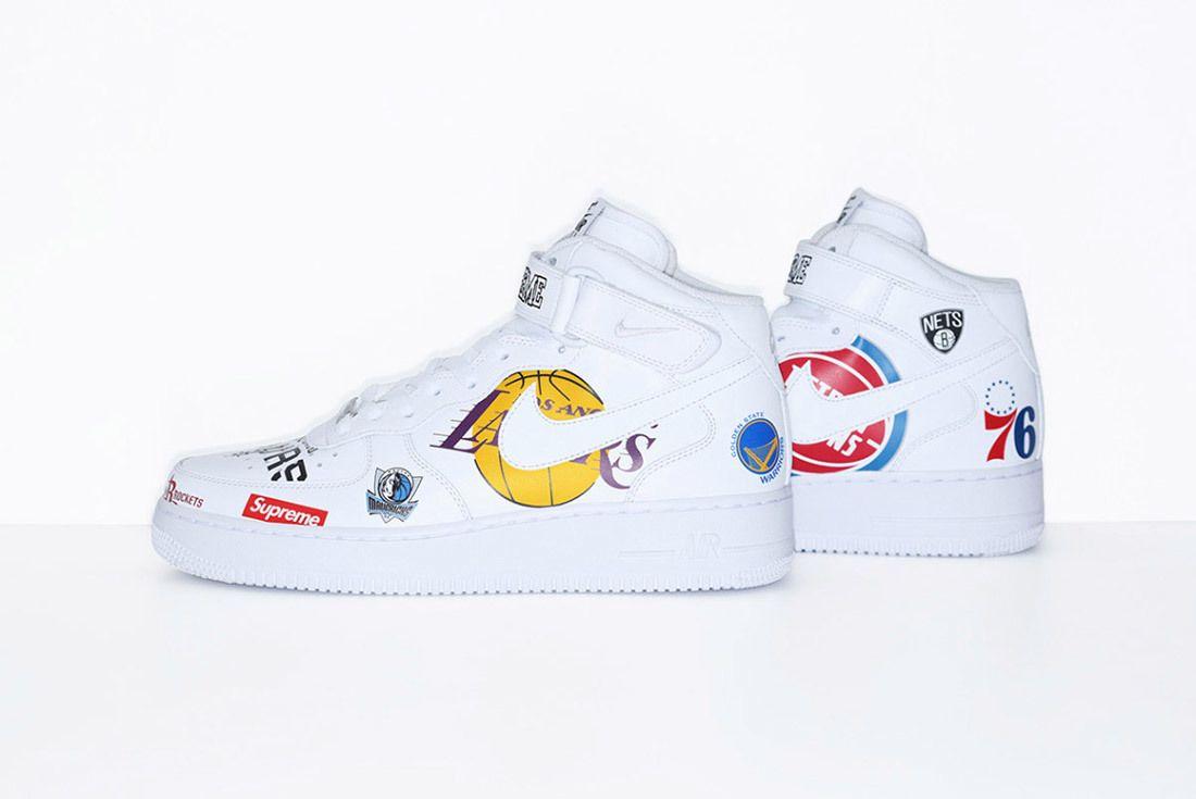 Supreme Nike Nba Air Force 1 High Sneaker Freaker 22
