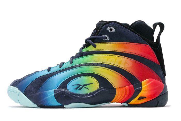 Reebok Shaqnosis Rainbow Left