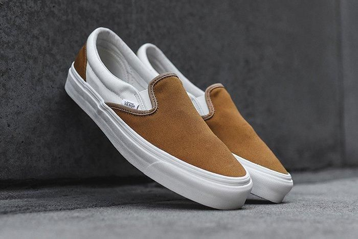 Vans Vault Golden Brown 1