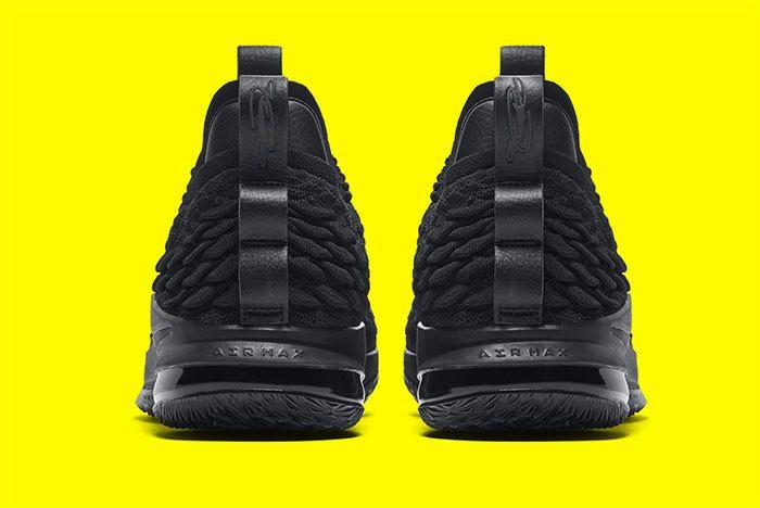 Nike Le Bron 15 Black 5