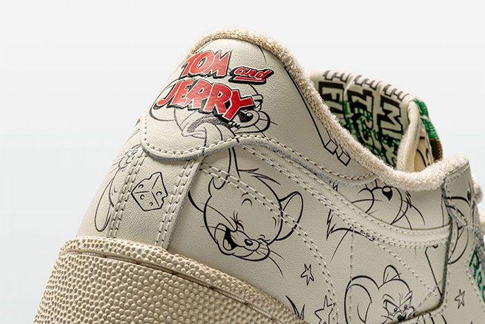 Reebok Club C Tom Jerry Heel