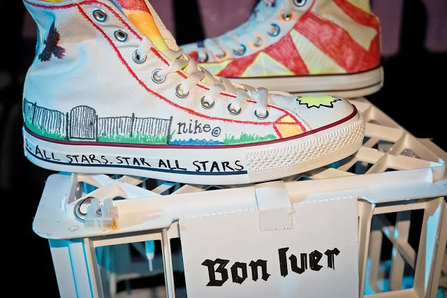 Converse And Warner Music In Their Shoes Charity 1