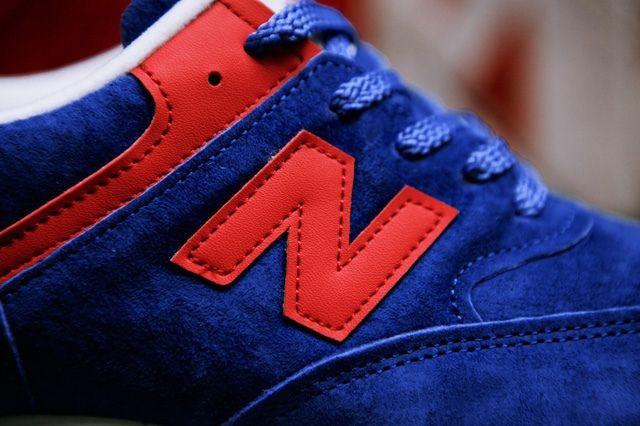 New Balance Wmns 576 Blue Red 4
