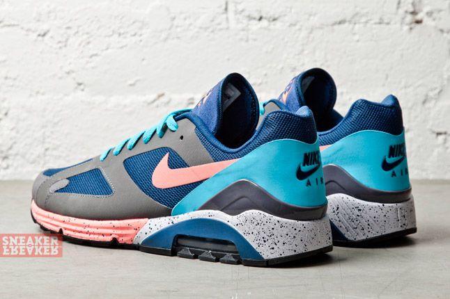 Nike Air Max Terra 180 Brave Blue Atomic Pink Graphite 1