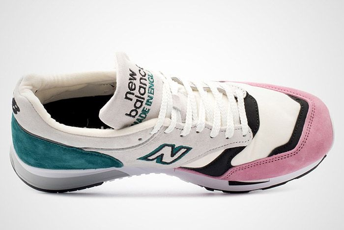 New Balance 1500 Made In England Teal Pink White Black 5