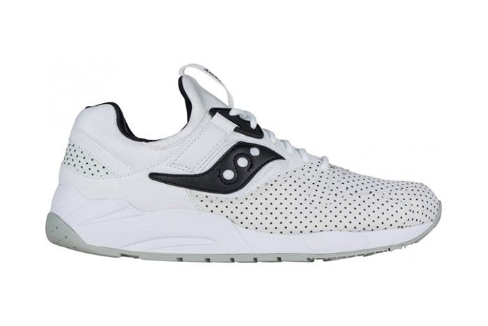 Saucony Grid 9000 Micro Dot White 1