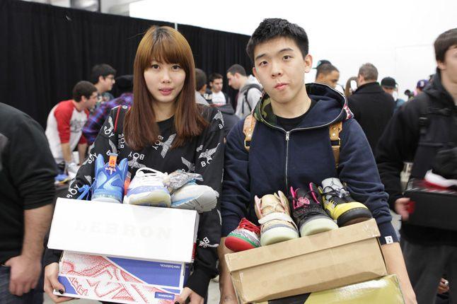 Sneaker Con New York 2012 Happy Couple 1