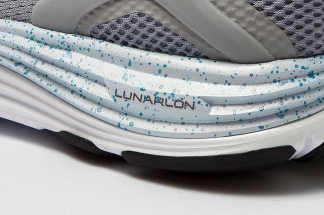 Nike Lunarglide4 Wolf Grey Lunarlon Shot 1