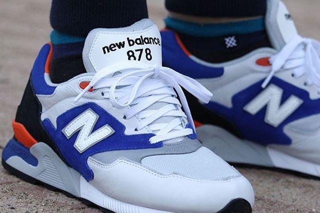 New Balance Ml 878 White Blue Orange 3