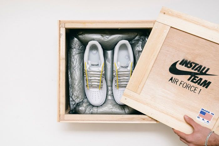 New York Sunshine Air Force 1 Unboxing