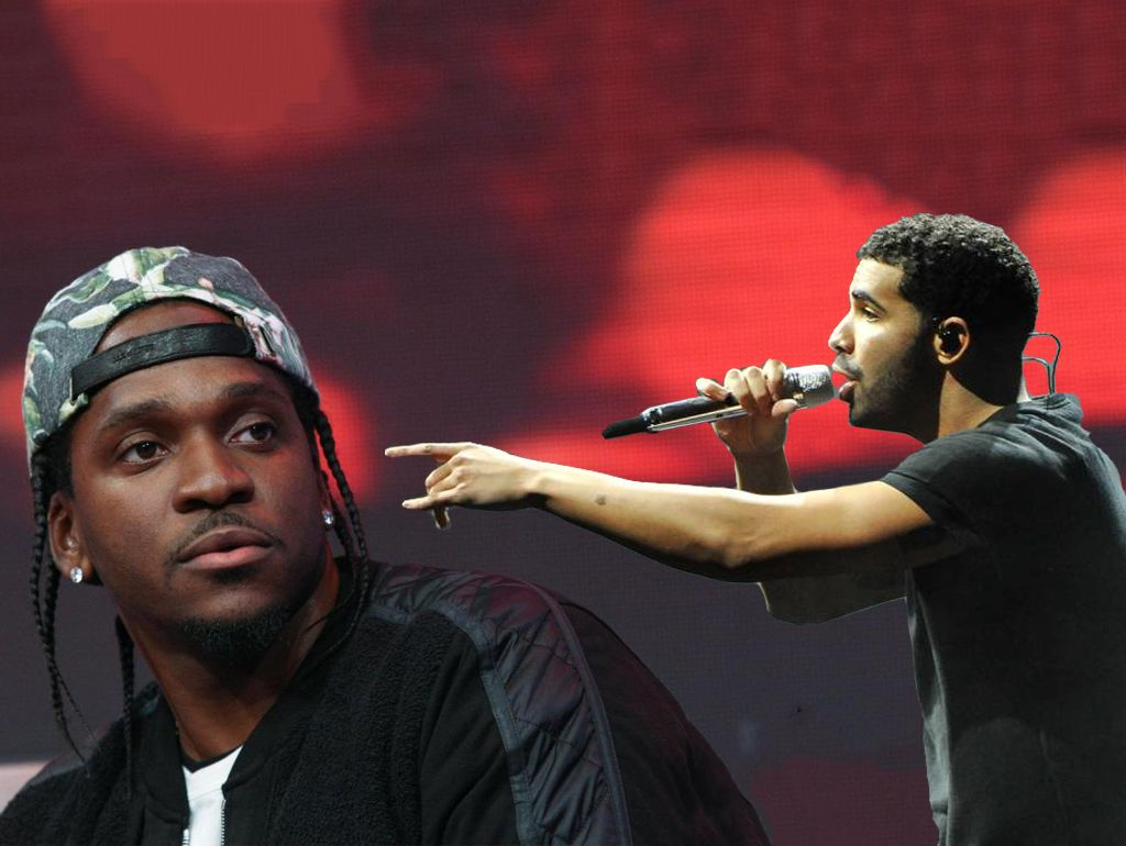 Pusha T Drake Header