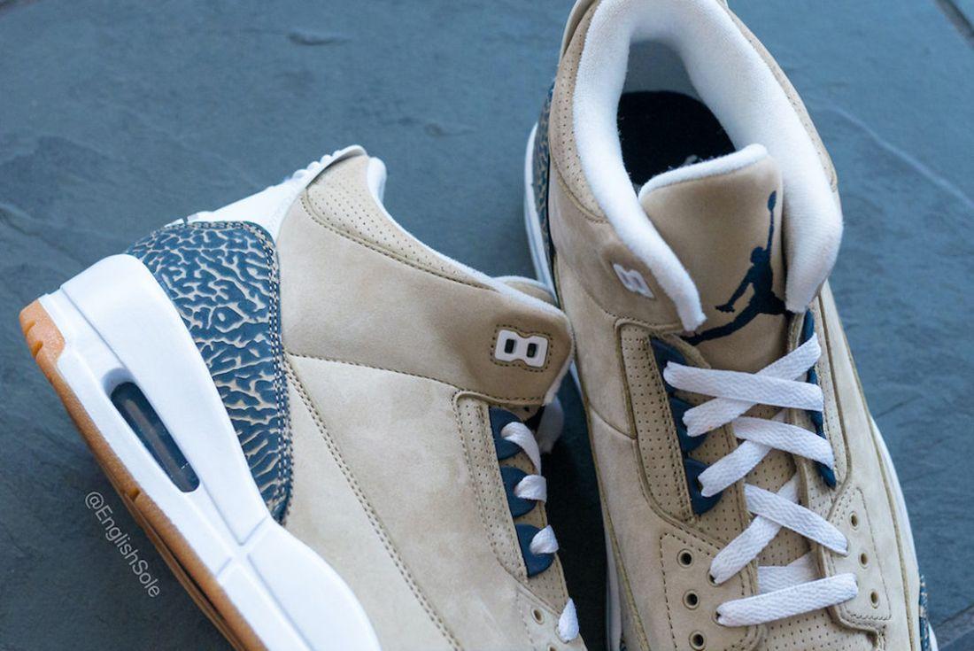 Air Jordan 3 'Khaki' and 'Denim'