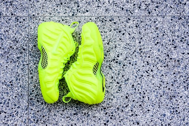 Nike Air Foamposite Pro Volt Bumper 1