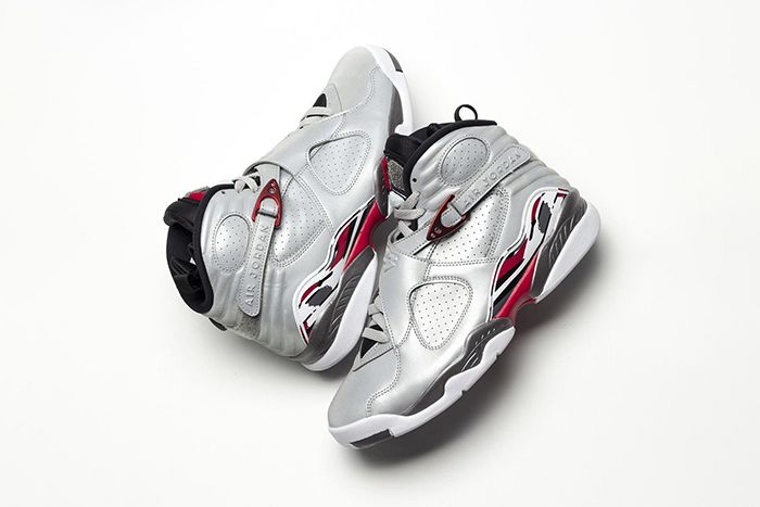 Air Jordan 8 Reflections Of A Champion Closer Look Ci4073 001 Release Date Pair