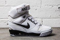 Nike Air Revolution Sky Hi Black White Thumb