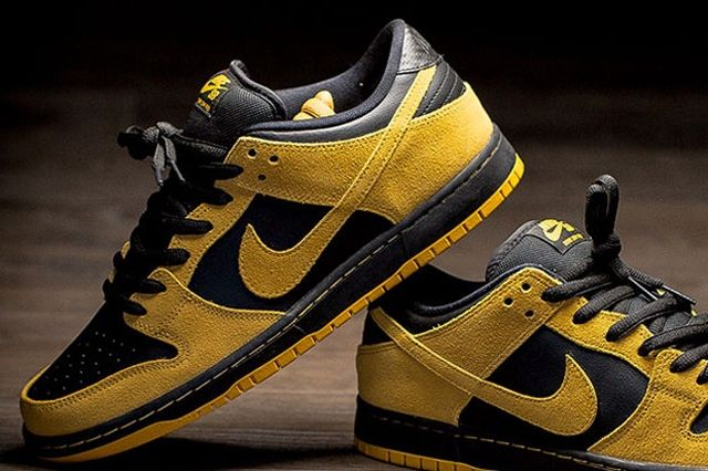Nike Sb Dunk Low University Gold Black 4