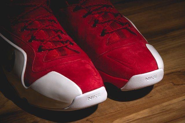 Nike Zoom Penny Vi University Red Bumper 5