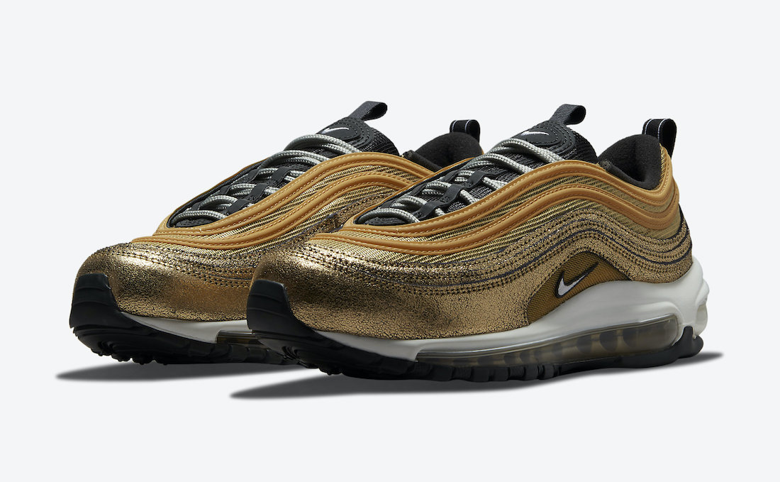 Nike Air Max 97 Cracked Gold