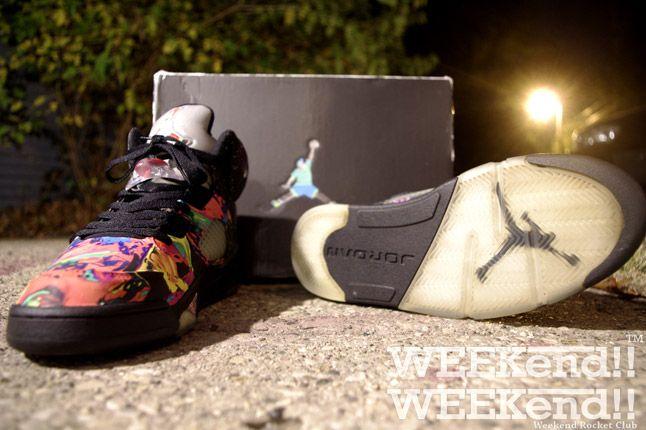 Fresh Prince Nike Air Jordan 5 Fresh Prince Pair 1