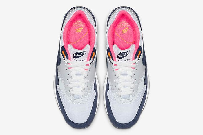 Nike Air Max 1 White Midnight Navy Pure Platinum 3