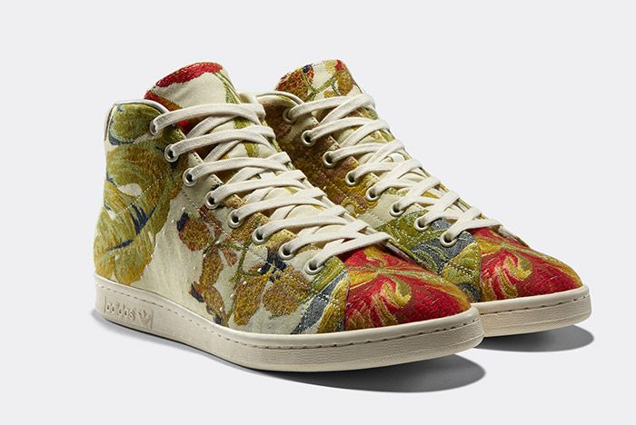 Adidas Pharrell Williams Stan Smith Mid Jacquard Floral 4