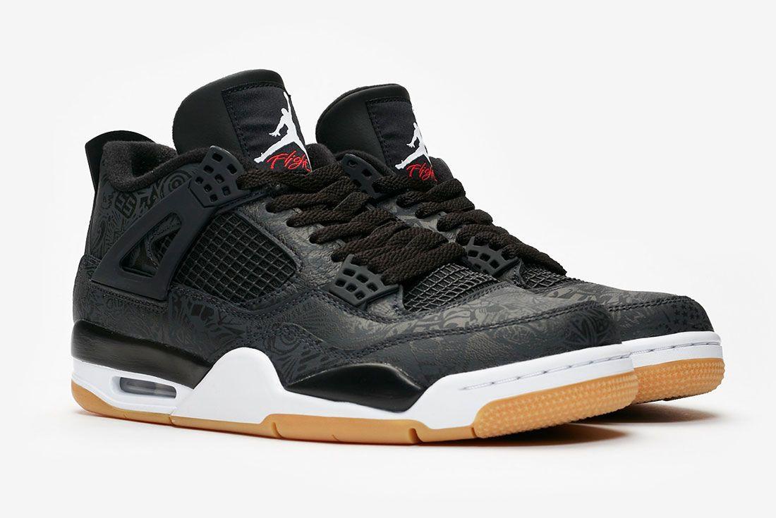 Air Jordan 4 Laser Pair Side