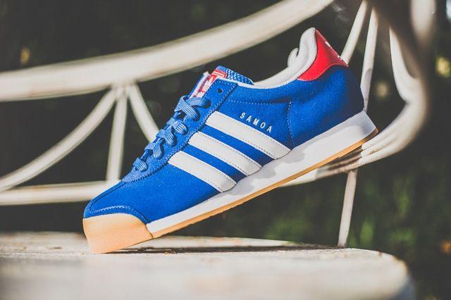 Adidas Samoa Red Blue Gum 4
