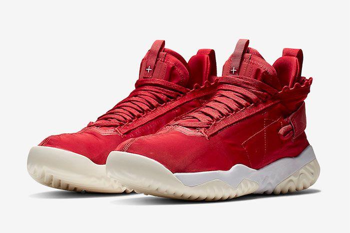 Jordan Proto React Red White Quarter