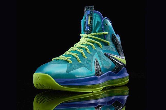 Nike Lebronx Pselite Sprt Turquoise Front Quarter 1