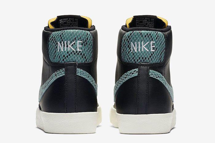 Nike Blazer Mid 77 Vintage Reptile Snakeskin Ci1176 001 Heels