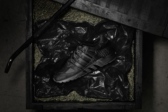 Pusha T X Adidas Eqt Guidance 93 Black Market 2