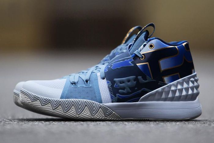 Nike What The Kyrie Hybrid Blue Release 7 Sneaker Freaker