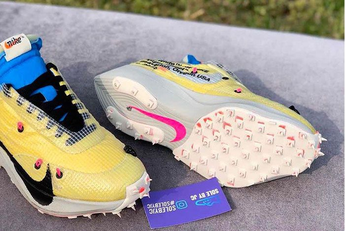Off White Nike Vapor Street Yellow Preview Under View
