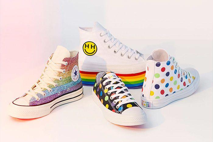 Miley Cyrus Converse Pride Month 5