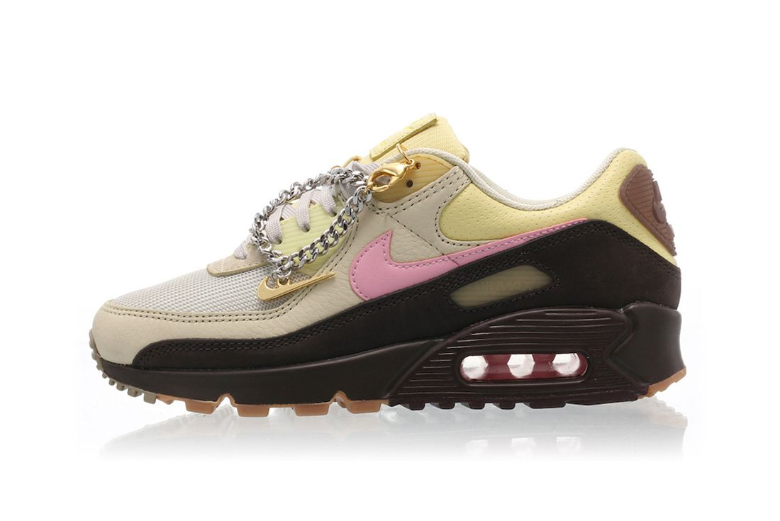 Nike Air Max 90 Velvet Brown Left
