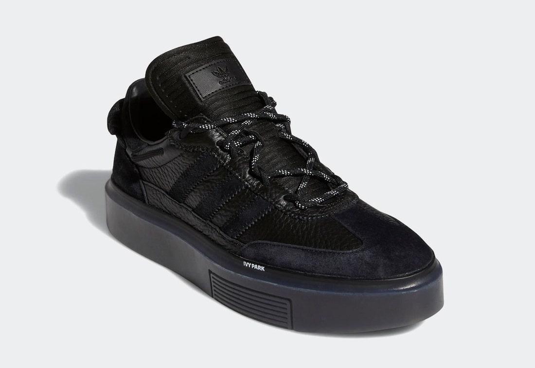 Ivy Park adidas Sleek Super 72 Black