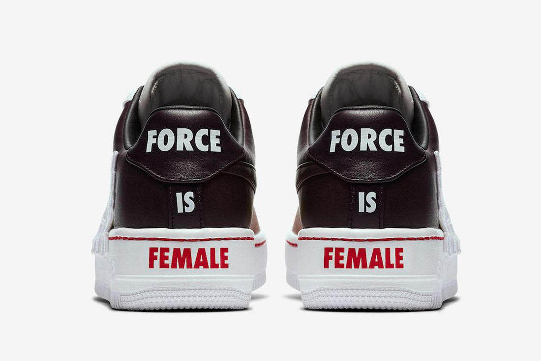 Nike Air Force Uptown Sequin 9