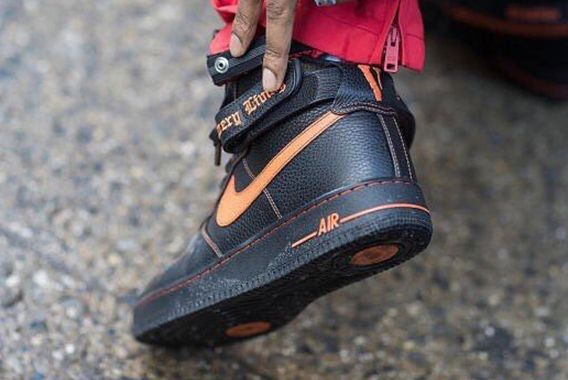 Vlone X Nike Air Force 1 Highfearture