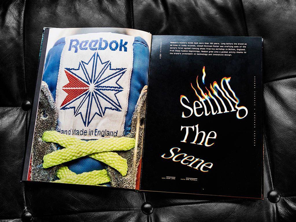 Sneakerfreaker Reebok Book Scene
