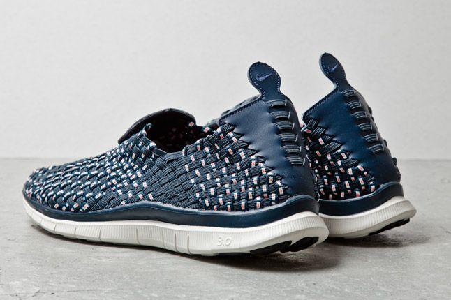 Nike Free Woven Navy 3 1