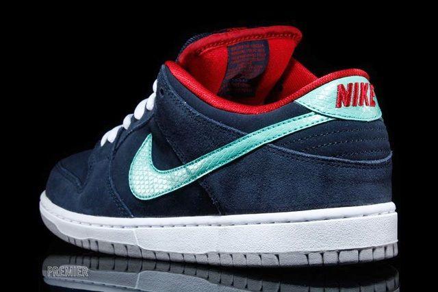 Nike Sb Dunk Low Crystal Mint 3