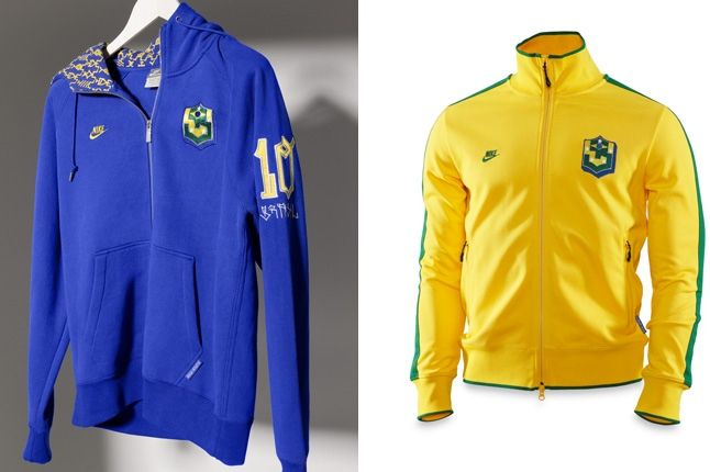 Brazil World Cup Track Tops 1