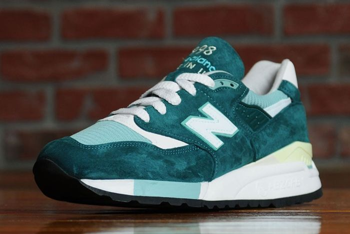 New Balance 998 Emerald 4