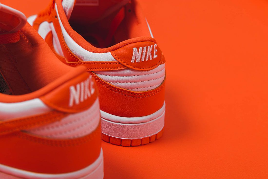 Up There Store Nike Dunk Low Sp White Orange Blaze Heel
