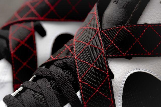 Nike Air Raid White Black University Red 3